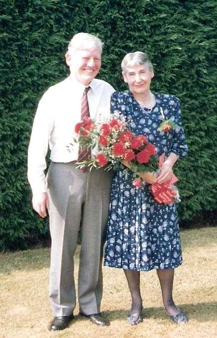 Mum & Dad, 40th Wedding Anniversary