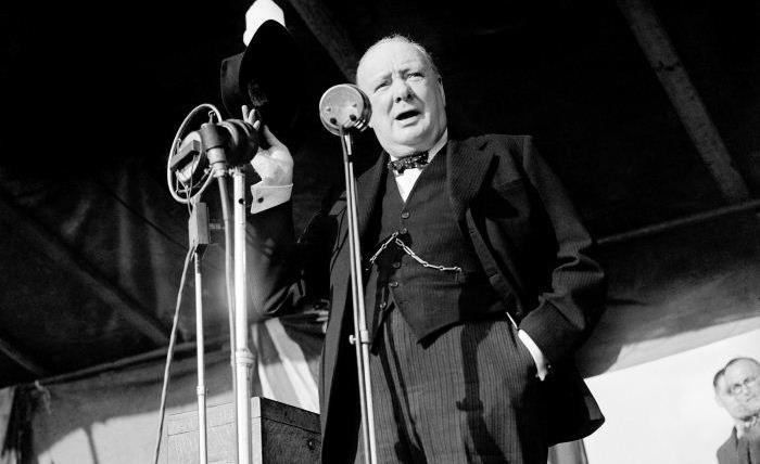 Winston Churchill, great wartime leader rejected in peace