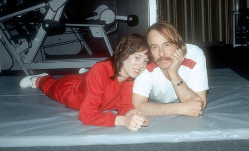 Mackenzie and John in the 1980s