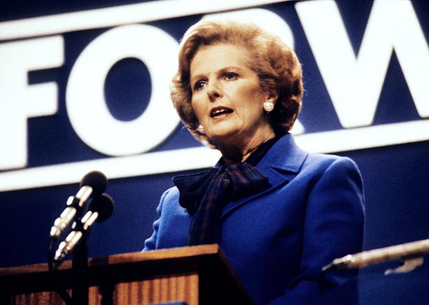 Margaret Thatcher at the Conservative Party Conference 1980 - copyright © 1980 The Sun