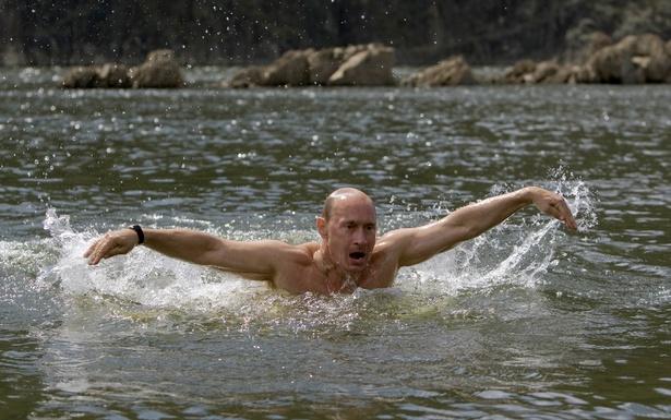 Putin: the fitness image