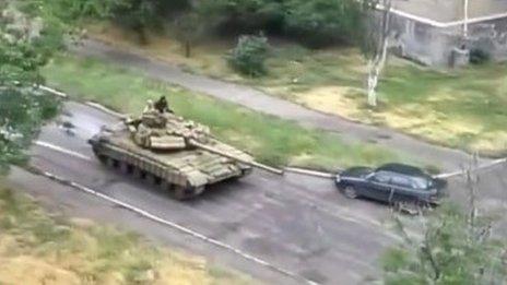 T-64 in Snizhne