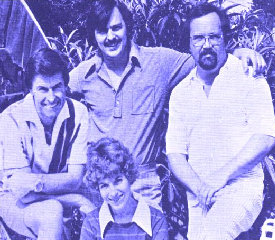 Scott Myers, Susan Myers, Vincent Flowers and Charles Hughes in the mid-1970s